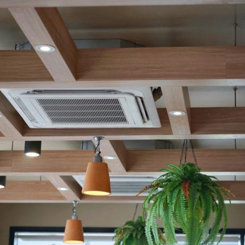 klimatyzacja w restauracji
